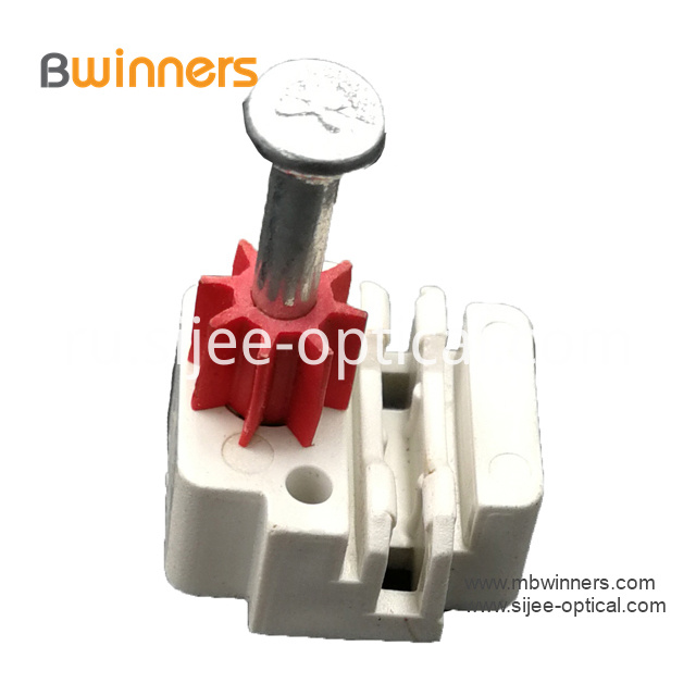 Ftth Optic Cable Clip With Nail