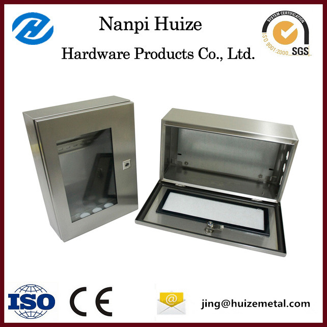Wall mounting sheet metal box