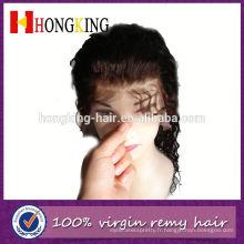 Perruque de dentelle avant moins cher pour les femmes blanches fabriquées en Chine