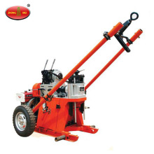 Mobile Double Wheel Portable Hydraulic Rotarya Drilling Rig