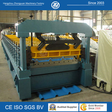 1000mm Breite Longspan High Spped Roof Roll Forming Machine