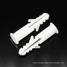 M6*28mm M8*35mm White Plastic Expansion Tube Plug