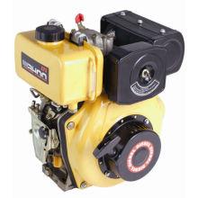 CE de alta calidad refrigerado por aire solo cilindro 3,8 hp motor diesel (WD170)