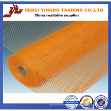 Venta caliente 4 * 4 mm 160g Rejilla de fibra de vidrio resistente a los álcalis