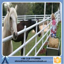 Barata profesional de alta calidad Corral valla ferroviaria para caballo