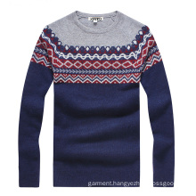 Factory Made High Quality Men′s Wool Knitting Sweater