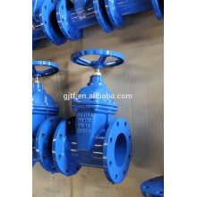 2.5'' WCB body non-rising stem resilient soft seated gate valve BS 5163