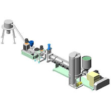 Agricultural Film Waste Recycling Cutting Line Plastic Granulating Machine