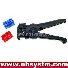 Cortador de cabo coaxial e Stripper (modelo de 3 lâminas)