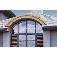 Custom Curved Fixed Top Aluminium Doors e Windows Prices