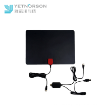 Super Thin Digital Indoor HDTV Antenna 50 Miles Range