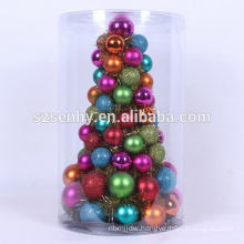 30cm Height Christmas Multi Color Ornament Tree