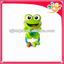 Lovely Baby Series Shaking Hand Bell Toy,Cute Cartoon Frog Design Hand Bell
