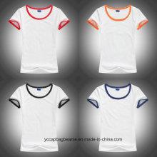 2016 mulheres novas caberam t-shirt vazios
