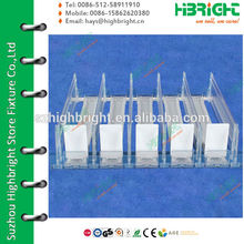 plastic shelf pusher and divider