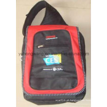 Saco de computador personalizado, mochila de ombro dupla