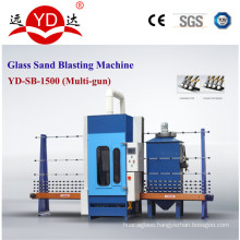 for Glass Window Screen with Sand Blasting Equipment
