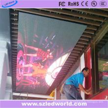 Panneau de message d'écran d'affichage à LED P6 d'intérieur pour la publicité de plafond