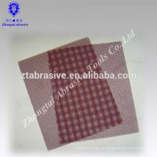 Feuille d'écran de sable de la cloison sèche de mur de p40--320 de vernis d'OEM