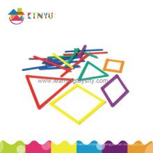 Plastic Links Sticks / tiras para sala de aula de matemática (K023)