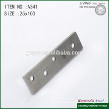 100 * 25mm novo design porta montagem eixo central