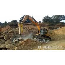 Martillo de martillo hidráulico para excavadora