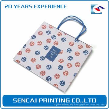 Sencai benutzerdefinierte Kuchen Kraftpapier Tasche