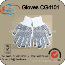 gants de point de PVC