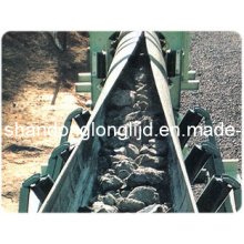 Correia transportadora da tubulação do cabo de aço