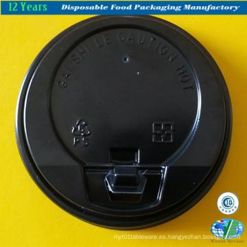 Tapas plásticas de la venta caliente para la taza de café