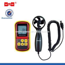 Anémomètre portatif d'anémomètre avec l'anémomètre numérique de la température WH8901