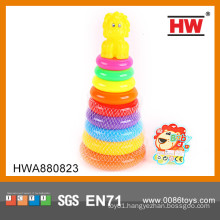 Kids Spring Toys Multi Color Playful Penguin Rainbow Ring Toys