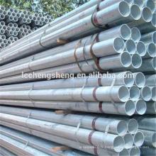 Tuyau en acier inoxydable galvanisé GI pipe laminé à chaud