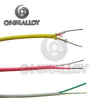 Diámetro 0.8mm Cable de termopar (tipo K / J / T / E / B / S / R) para la aviación