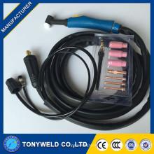 weldcraft wp26 серии аргоном с воздушным охлаждением TIG сварки Факел