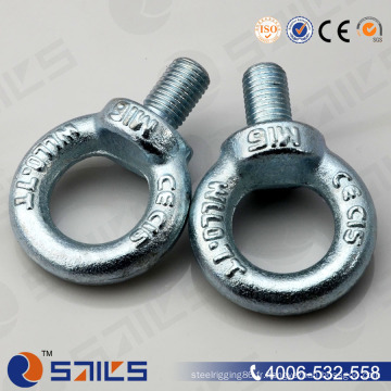La chute a forgé le boulon d'oeil de levage de DIN 580 plaqué par zinc