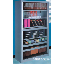 two push-pull door file cabinet