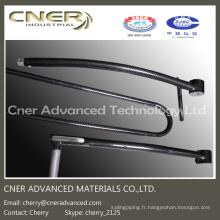 Cadre en fibre de carbone brillant / mat de haute qualité 3k