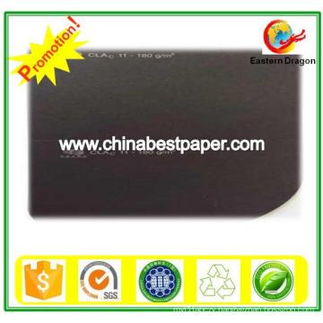 Uncoated 210g Black Cardboard Paper