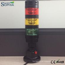 LED-Signalturm-Licht-Maschinen-Warnleuchte mit Summer