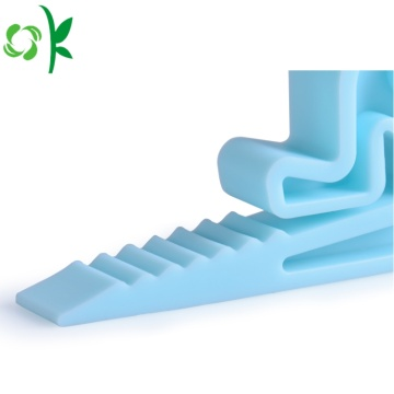 Creative Silicone an toàn người nhỏ Shape Door Stopper