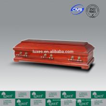 Vente chaude allemande cercueils LUXES feuillus funéraires cercueil
