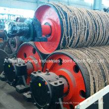 Durable Lagged Pulley / Schwere Riemenscheibe / Mining Pulley für Belt Conveyor