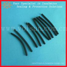 tubo plástico negro retardante de la manga de la llama pvc