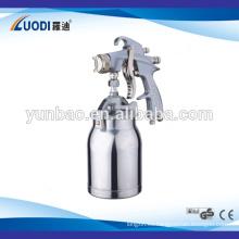 Pistola de pulverización de pintura de alimentación por gravedad profesional hvlp