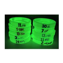 Wholesale Glow Bracelet,Silicone Glowing In Dark Wristband