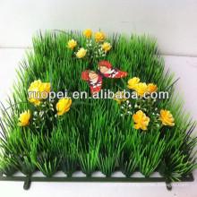 Hot selling artificial lawn mat grass