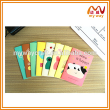 Cute animals cover notebook, school supplies wholesale