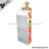 Factory Wholesale Merchandising Drinks Supermarket Dispaly Stand