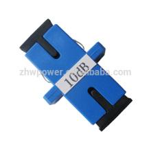 3dB 5dB adaptador de 10dB 15dB sc / pc tipo atenuador de fibra óptica / atenuadores de fibra óptica